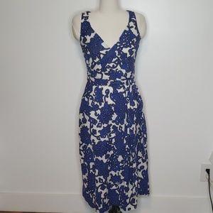 Boden Faux Wrap Floral Maxi Dress Size 6R